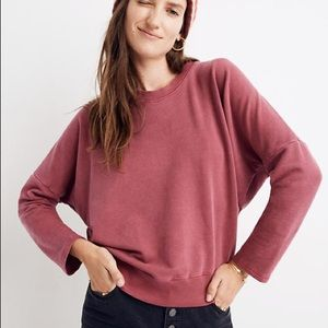 Madewell Rivet & Thread Relaxed Oversize Sweater